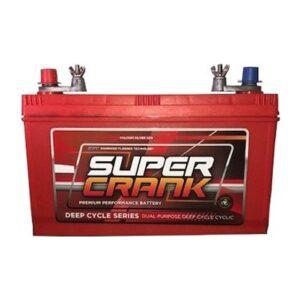 Super Crank Deep Cycle Dual Purpose MF Battery DCNX120-7L