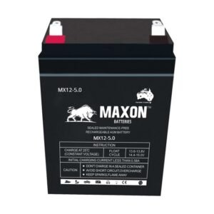 Maxon Sealed Lead Acid Battery MX12-5.0