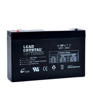 Lead Crystal 3-CNFJ-7.2